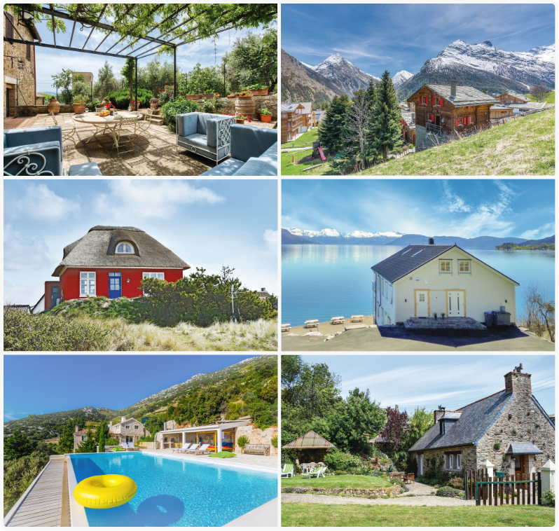 50,000 holiday homes in 22 countries.