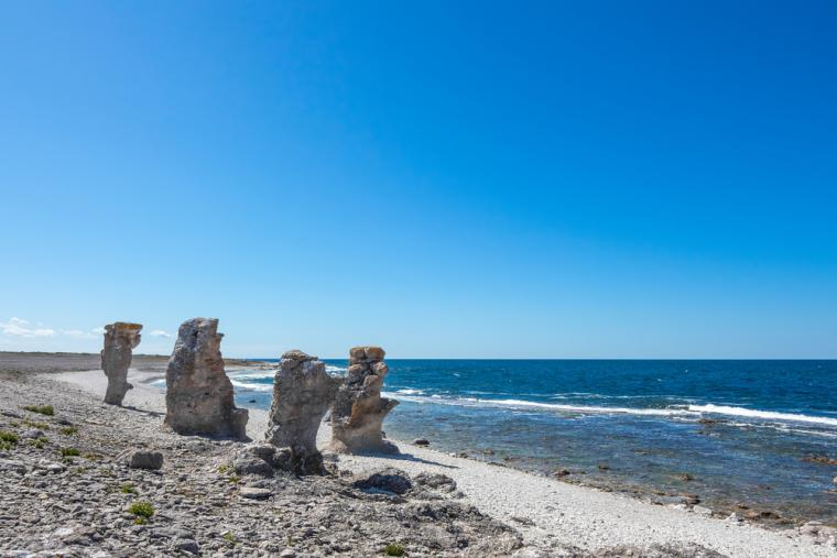 Beaches on Gotland - holiday rentals in Sweden