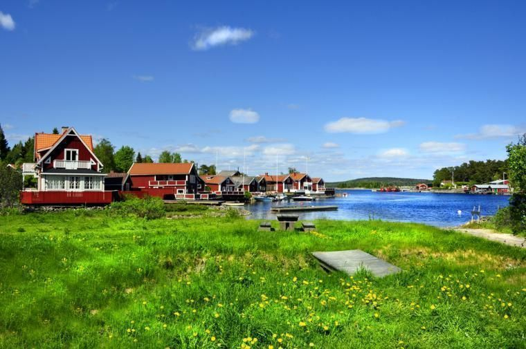 summer holidays in self-catering Sweden