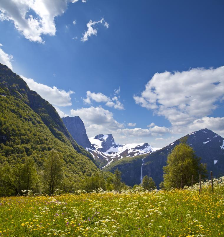 Rent a cabin or holiday home in Nordfjord - self-catering Norway